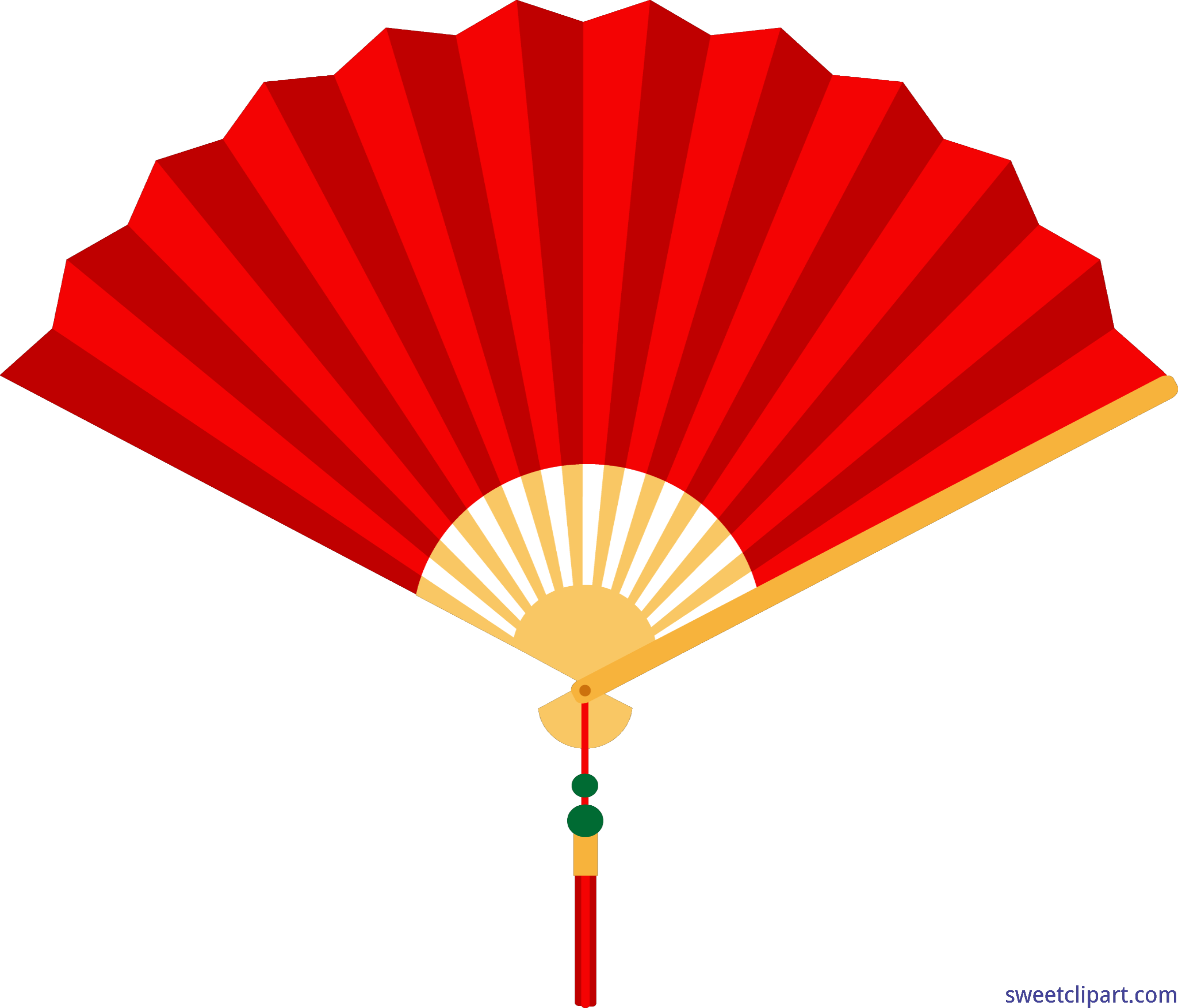Chinese fan clip art. Clipart umbrella red object
