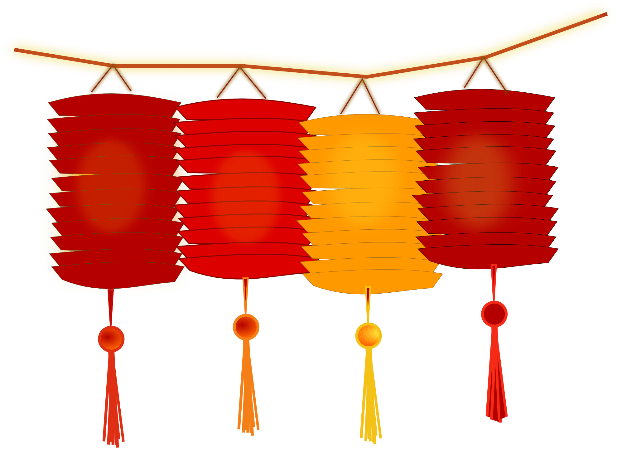 Lanterns for new year. Firecracker clipart firecracker chinese