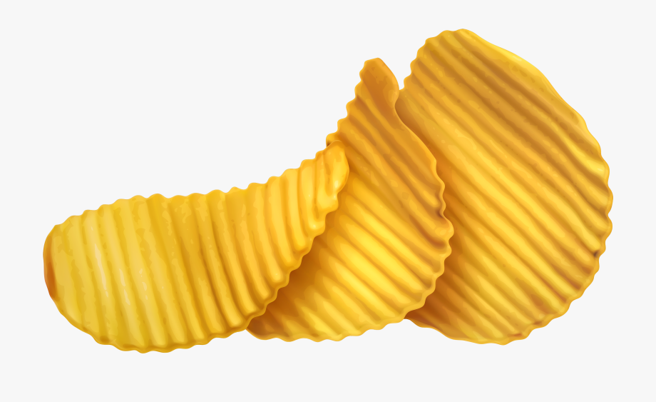 Potato chips snack . Chip clipart