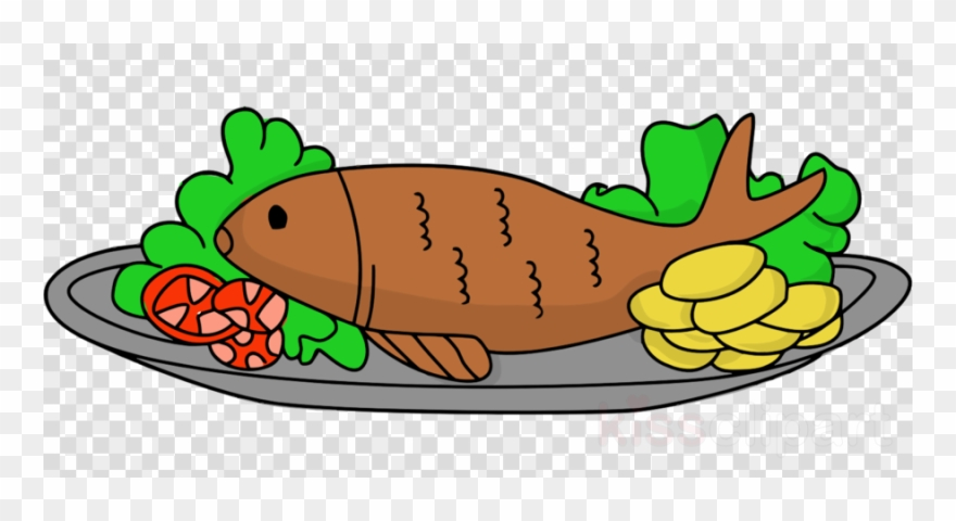 Chips clipart animated. Fried fish and clip