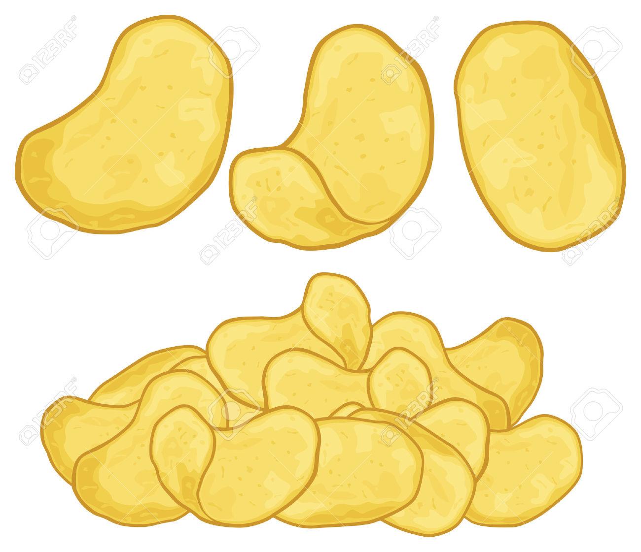 Potato chip panda free. Chips clipart animated