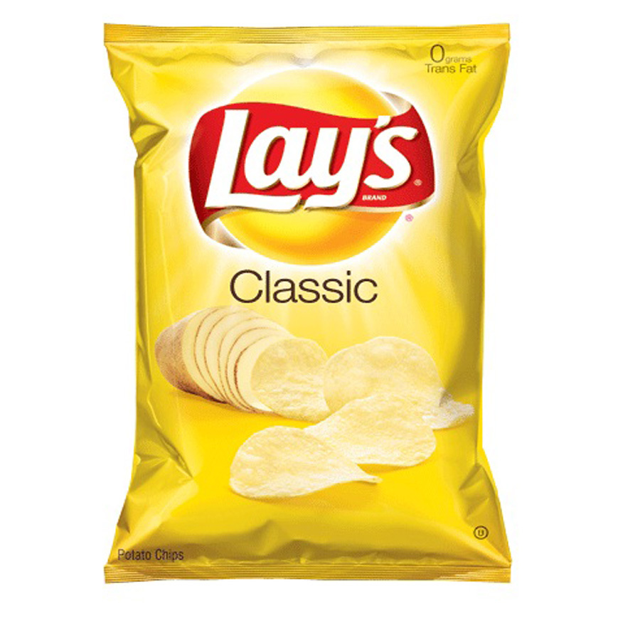 Shop lay s oz. Chip clipart bag chip