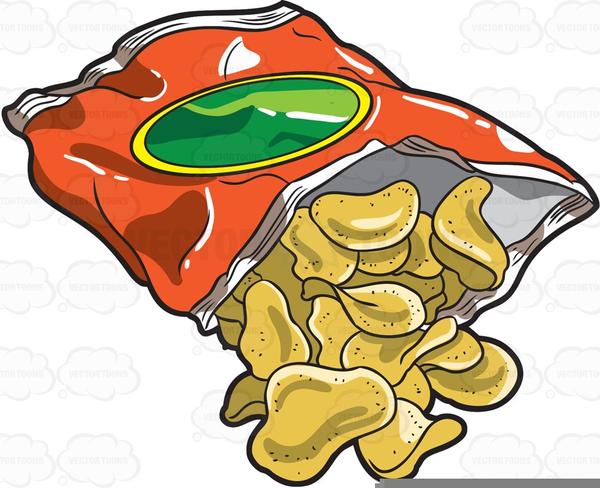 Of potato free images. Chip clipart bag chip