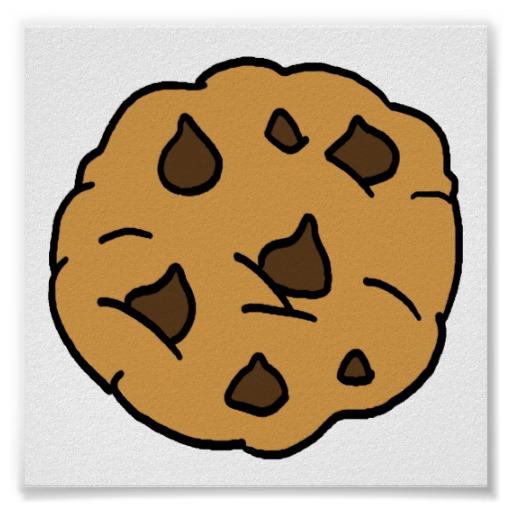 Chocolate cookie clipartion com. Chip clipart cartoon