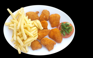 Chip clipart chicken nugget. Search photos nuggets fried