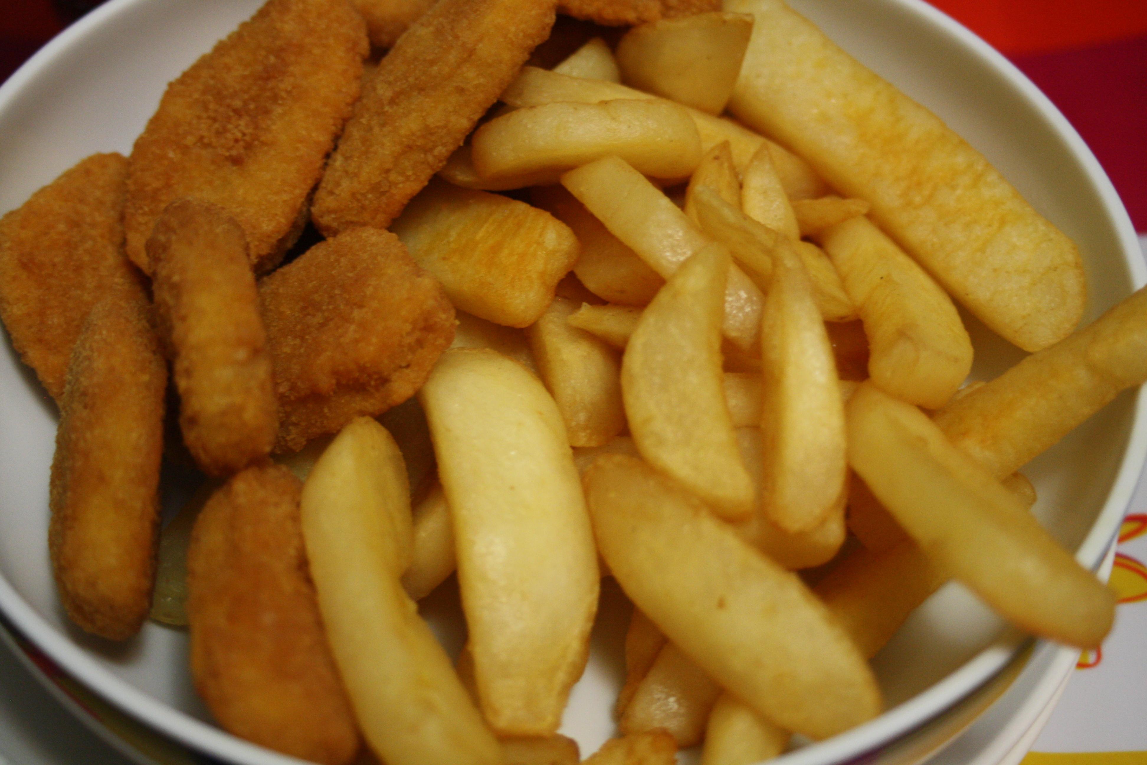 chip clipart chicken nugget