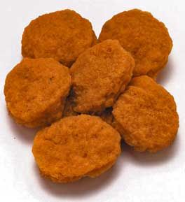 Nuggets clip art baked. Chip clipart chicken nugget