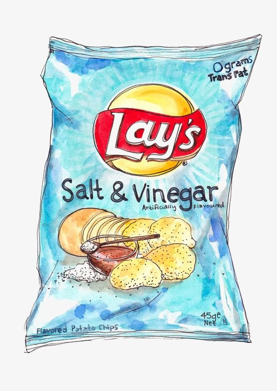 Chips clipart chip lays. Potato ketchup hand painted