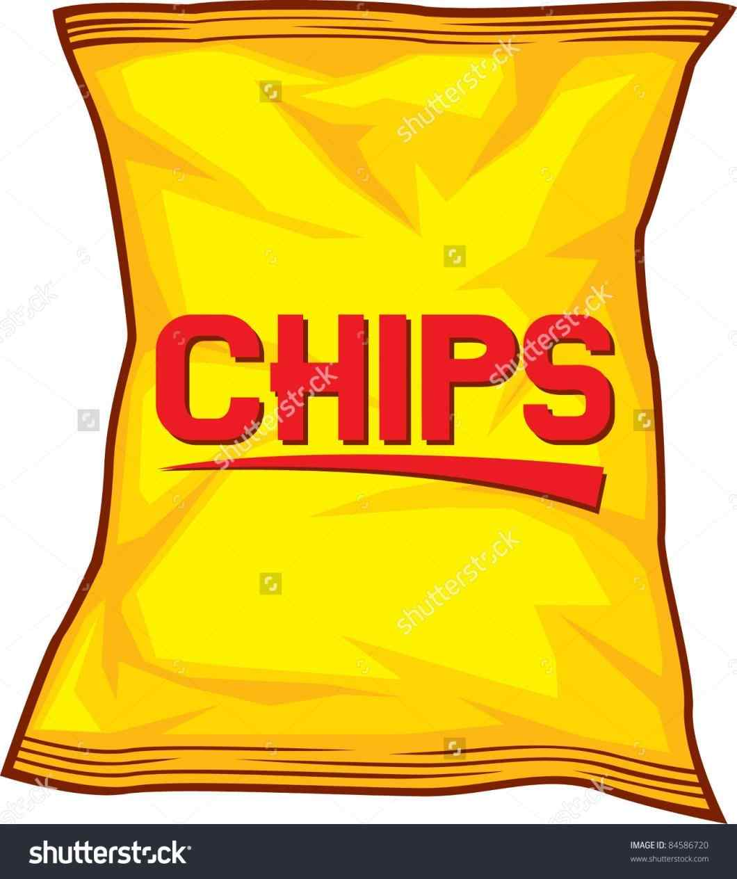 Chip clipart chip wrapper. Lays chips clipartuse potato