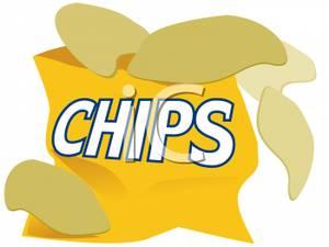 Chips clipart bag chip. Of potato panda free