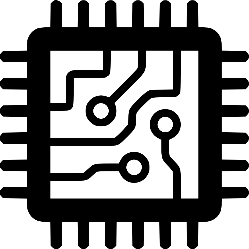 Electronics clipart computer chip. Svg png icon free