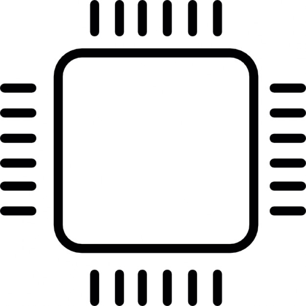Chip clipart computer chip. Micro icons free download