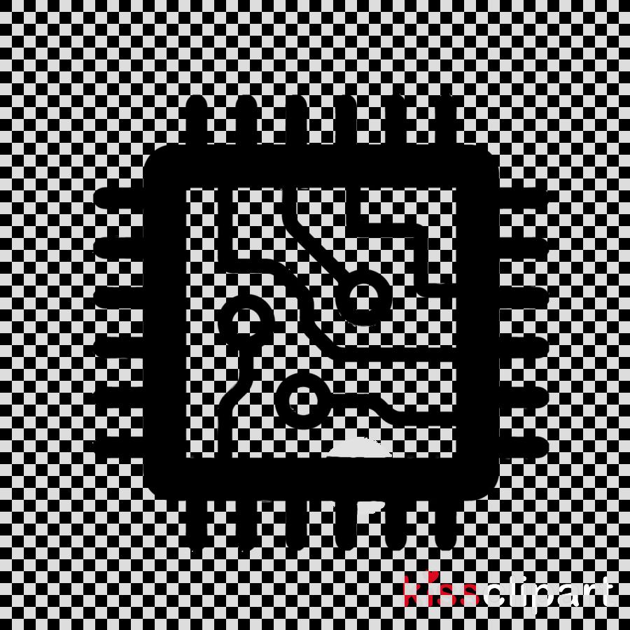Hand cartoon line font. Chips clipart computer