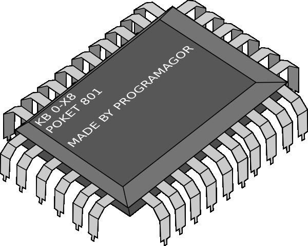 Clip art at clker. Chip clipart computer chip