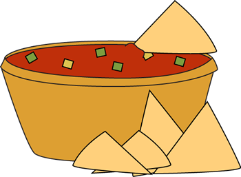 And salsa clip art. Chips clipart cute