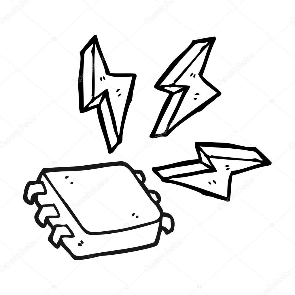Computer at getdrawings com. Chip clipart drawing