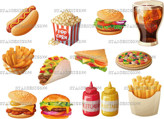 Chips clipart template. Digital eps png fast