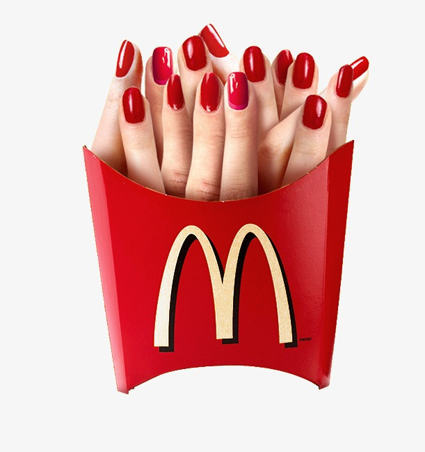 Chip clipart finger chip. Creative fries chips cuisine
