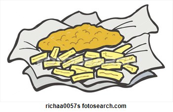 And . Chips clipart fish