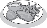 Search results for chips. Chip clipart fish