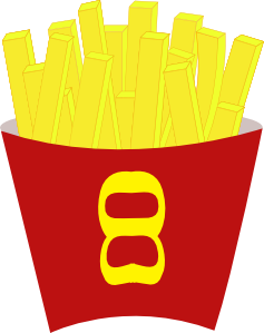Free fries clip art. Chip clipart french