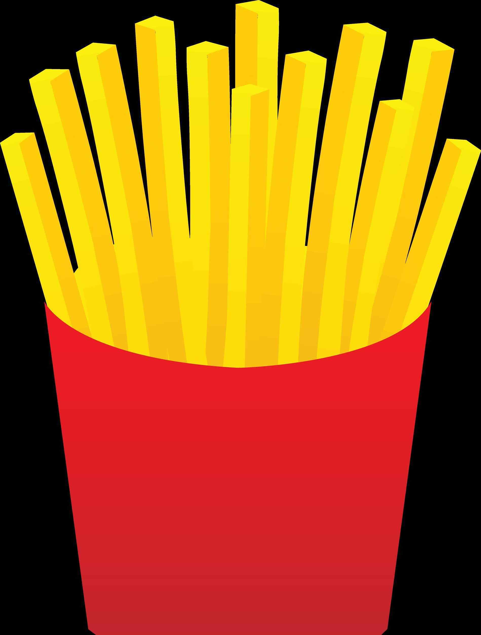 Chip clipart french. Red food cliparts fries