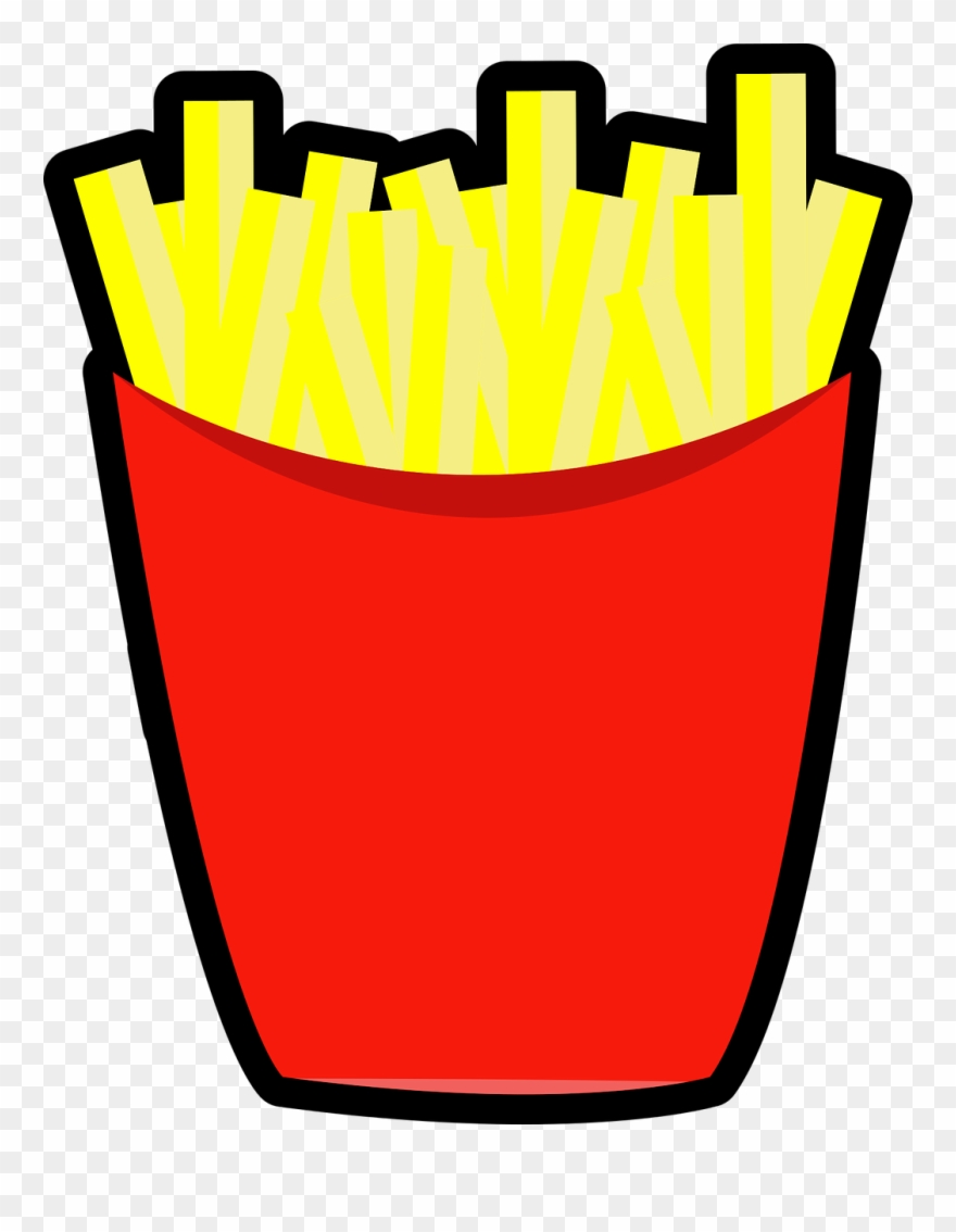 Mcdonald s fries cuisine. Chip clipart french