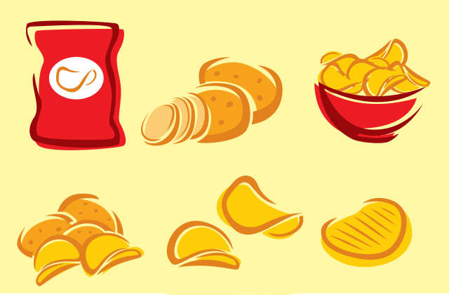 Cancer in a can. Chip clipart fried chip