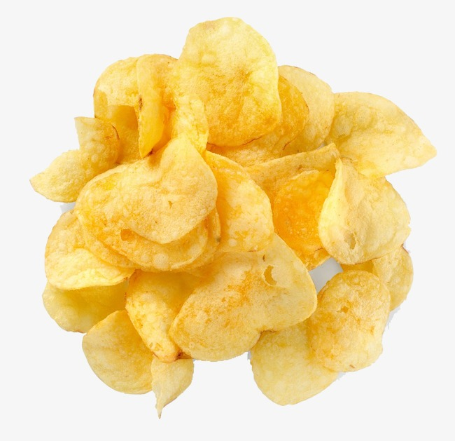 Chip clipart fried chip. A pile of potato