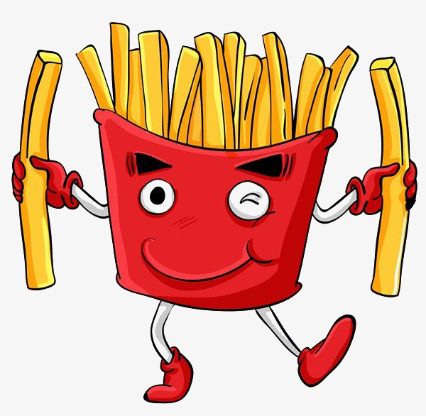 Chip clipart fried chip. Cartoon potato chips expression