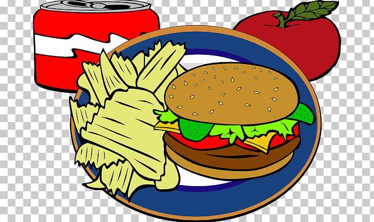Fish and hot dog. Chips clipart hamburger