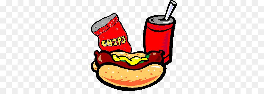 French fries hamburger food. Hotdog clipart chip drink