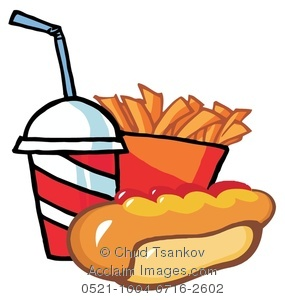 Chips clipart hot dog. Image of a box