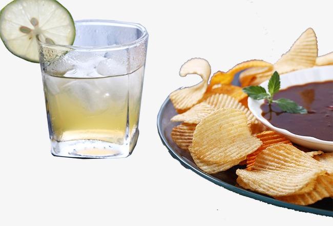 Chip clipart juice. Lemon and potato chips