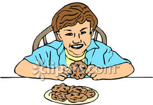 Chocolate cookies free download. Chip clipart kid