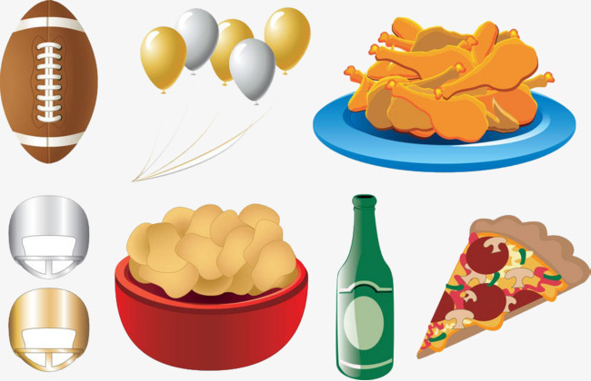 Cartoon food chips beer. Chip clipart pizza