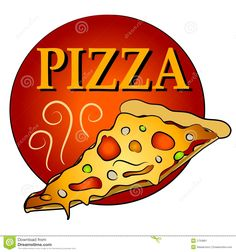 Hot slice of panda. Chips clipart pizza