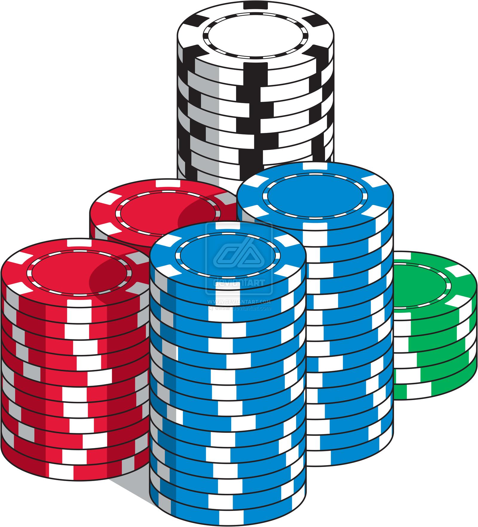 chip clip art. Poker clipart