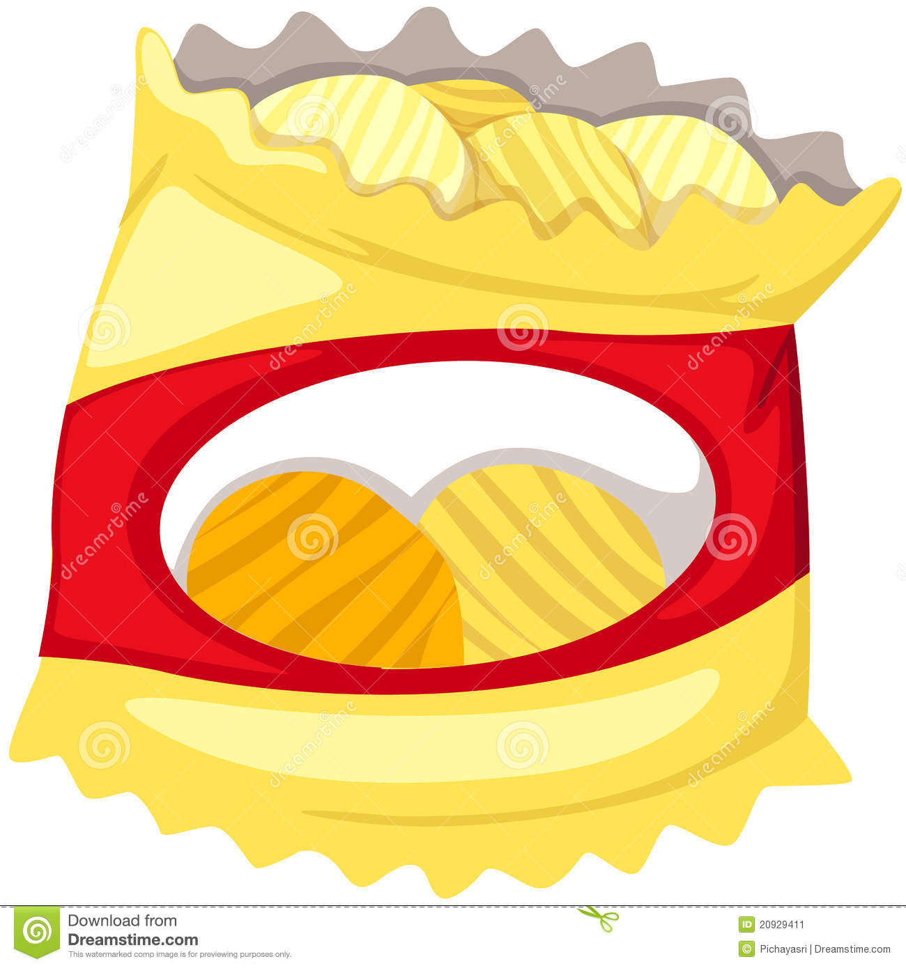Chips clipart animated. Potato no