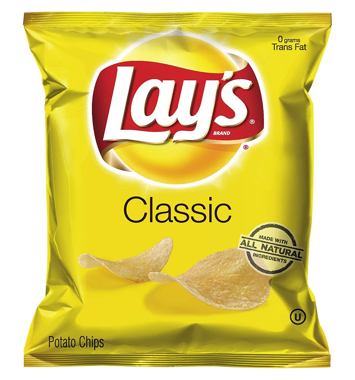 Chip clipart potato chip. Amazon com lay s