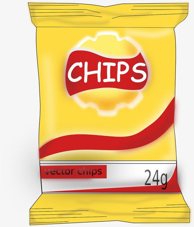 Crispy chips crunchy food. Chip clipart potato chip