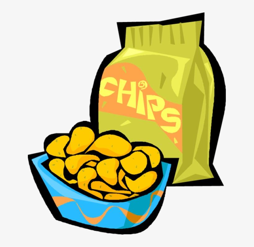 Chip clipart potato chip. Chips clip art transparent