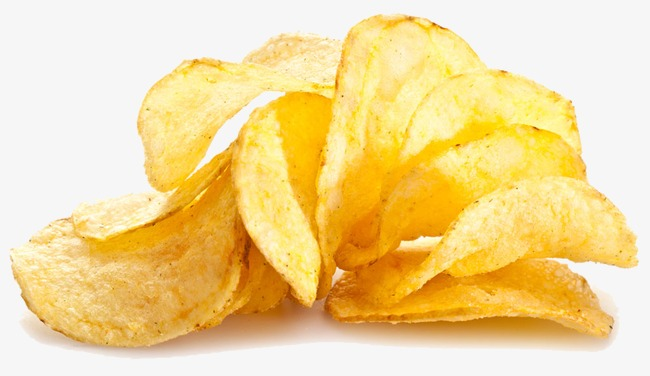 Chips clipart potatoe chip. Potato snacks golden png