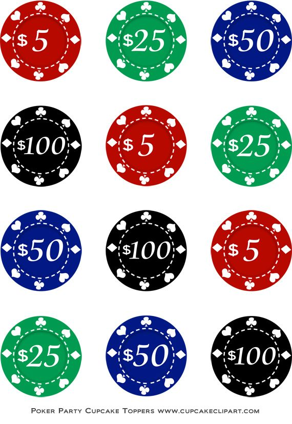 Chips clipart printable. Poker night party free