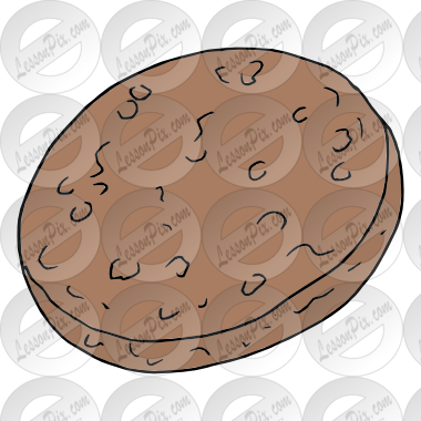 Patty picture for classroom. Chips clipart sausage