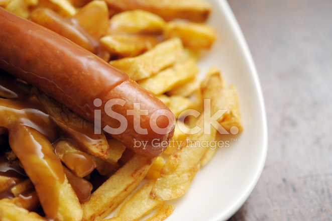 Chip clipart sausage. Chips jumbo and gravy