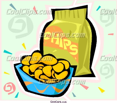 chip clipart snack
