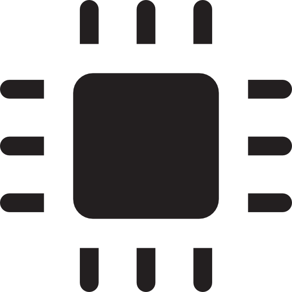 Chip icon clip art. Chips clipart computer