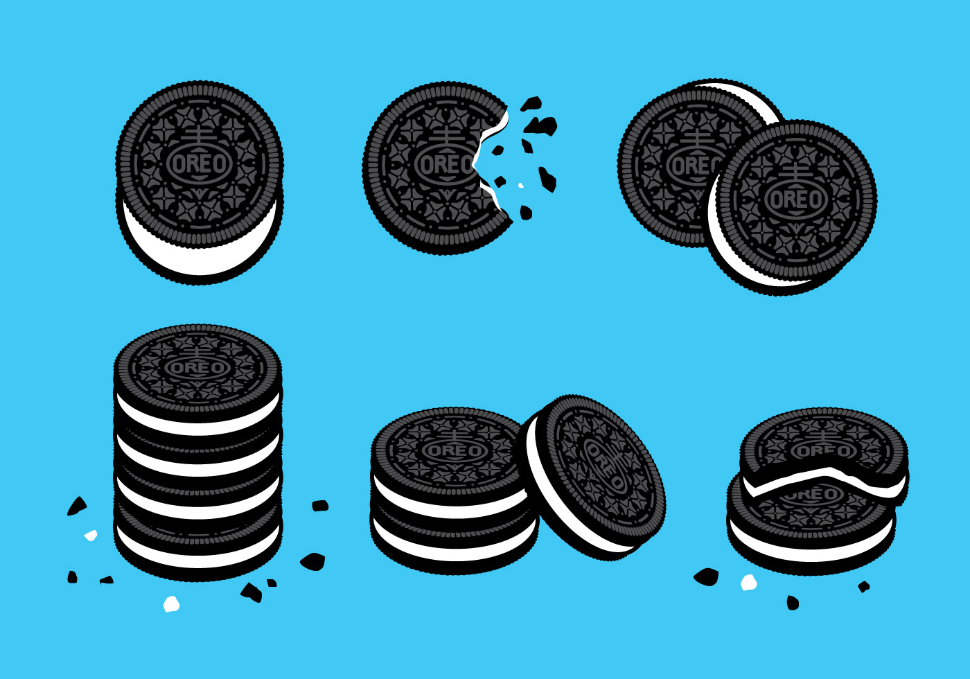 Chip clipart vector. Chocolate cookie free art