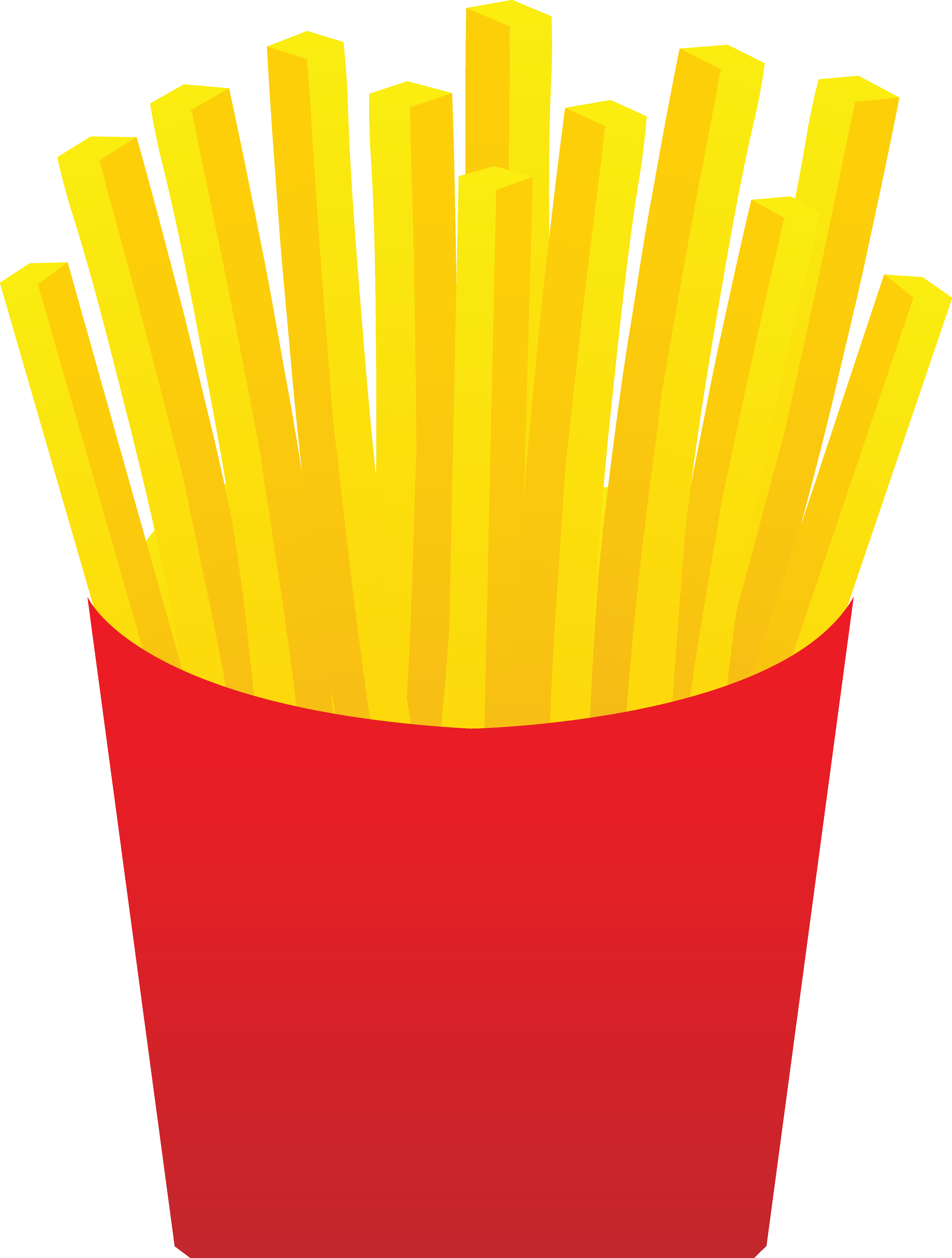 Chip station . One clipart fry